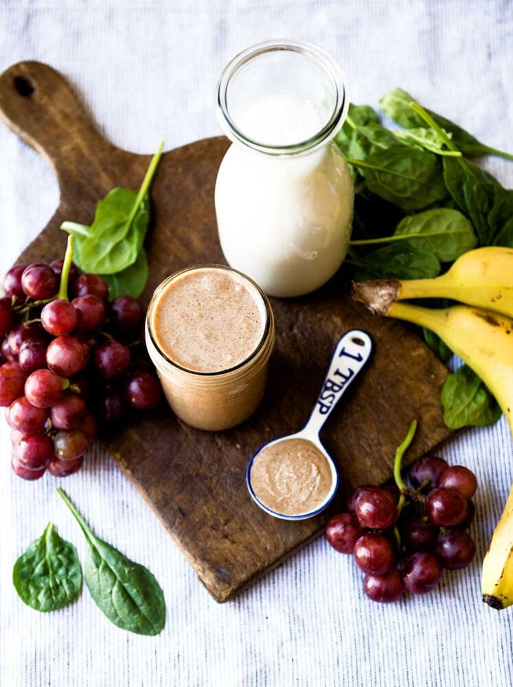 Post Workout Almond Butter Smoothie