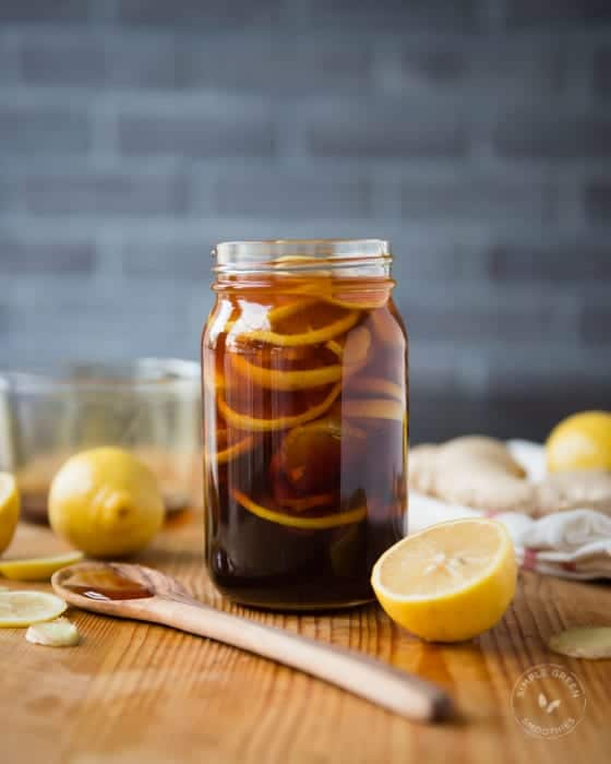 BEST home remedy for cough and cold- Honey, Ginger, and Lemon Natural Remedy