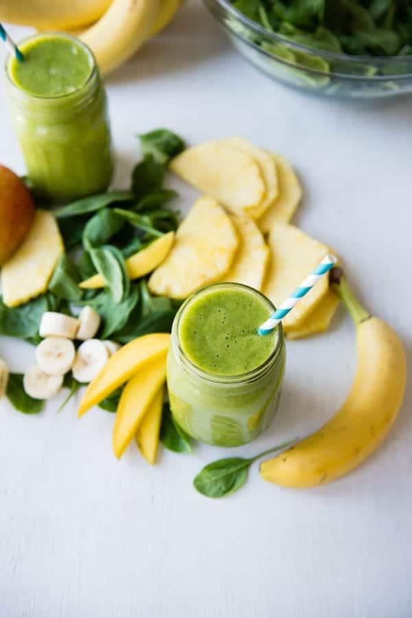 Beginner friendly green smoothie