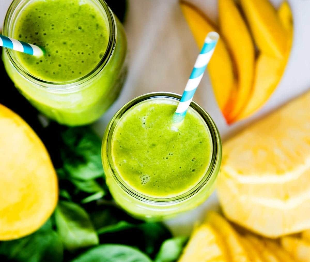Beginner friendly green smoothie
