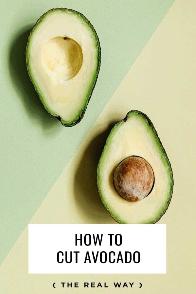 The real way to cut an avocado and not waste any