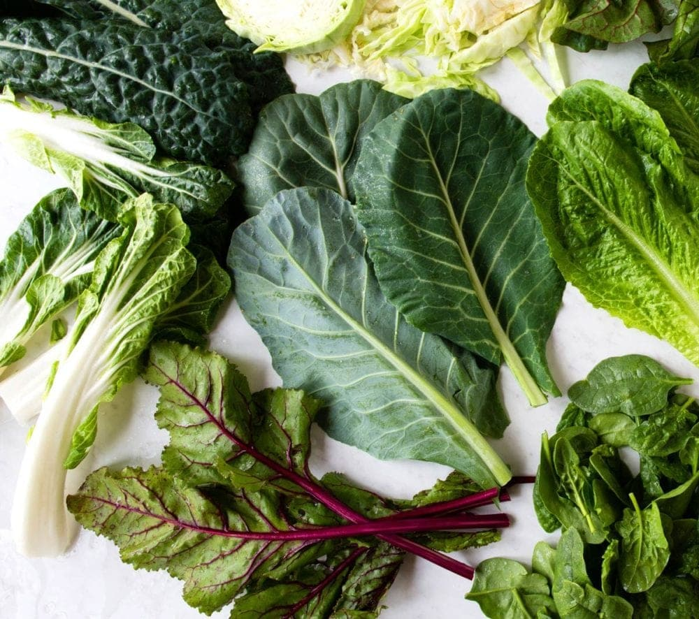 Kale is a leafy green that you should eat more of.