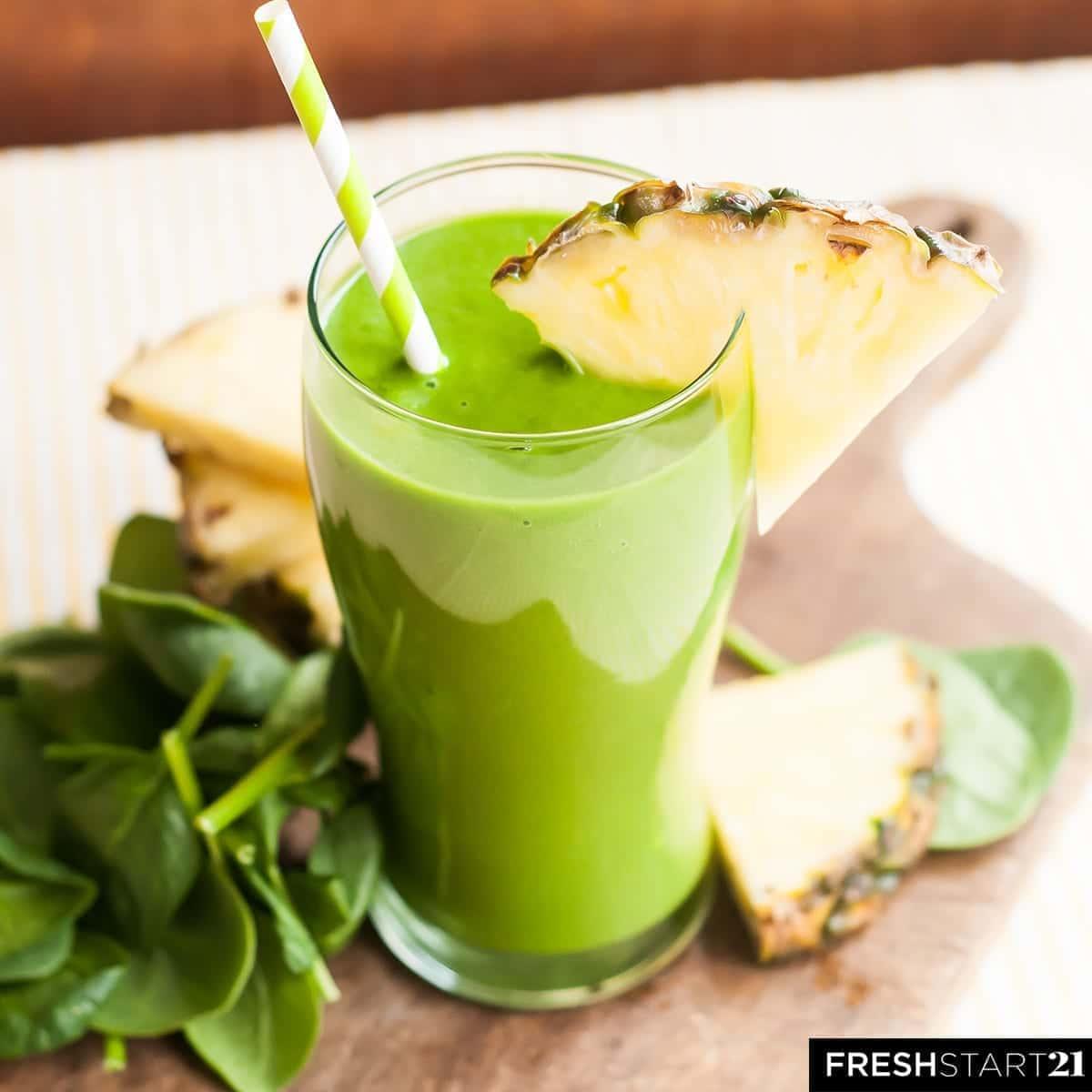 Tropical Skin Cleanser— A Fresh Start 21 Green Smoothie ...