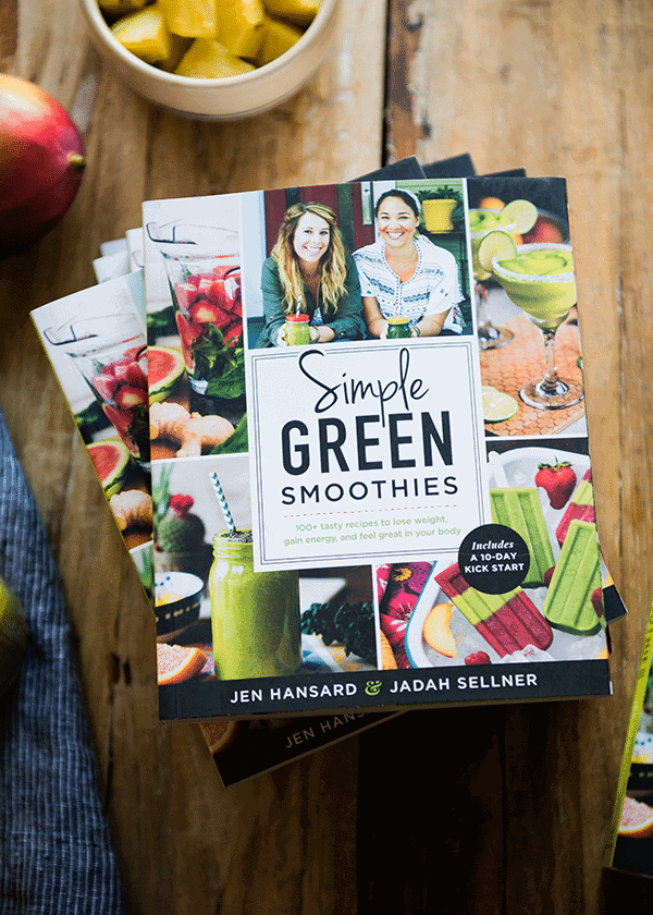 Simple Green Smoothies Book | Jen Hansard + Jadah Sellner