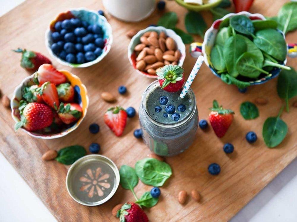 Berry protein smoothie recipe