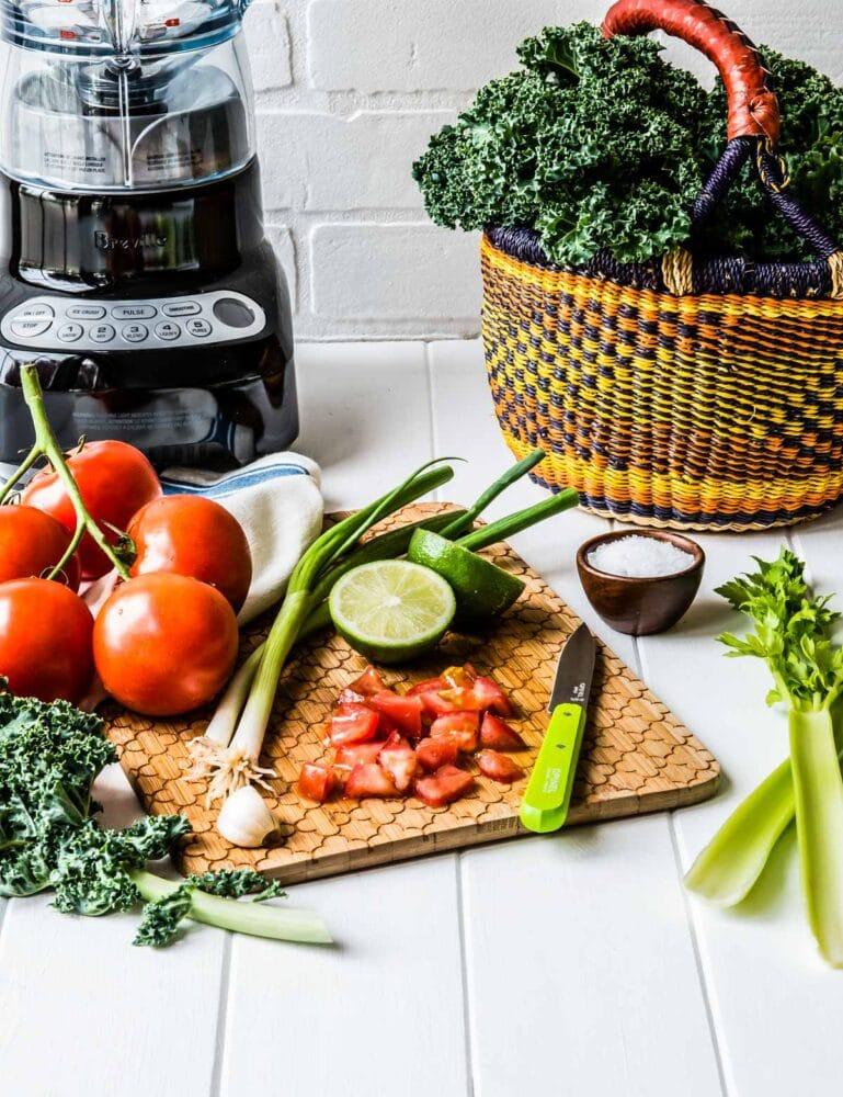 How to make veggie smoothies