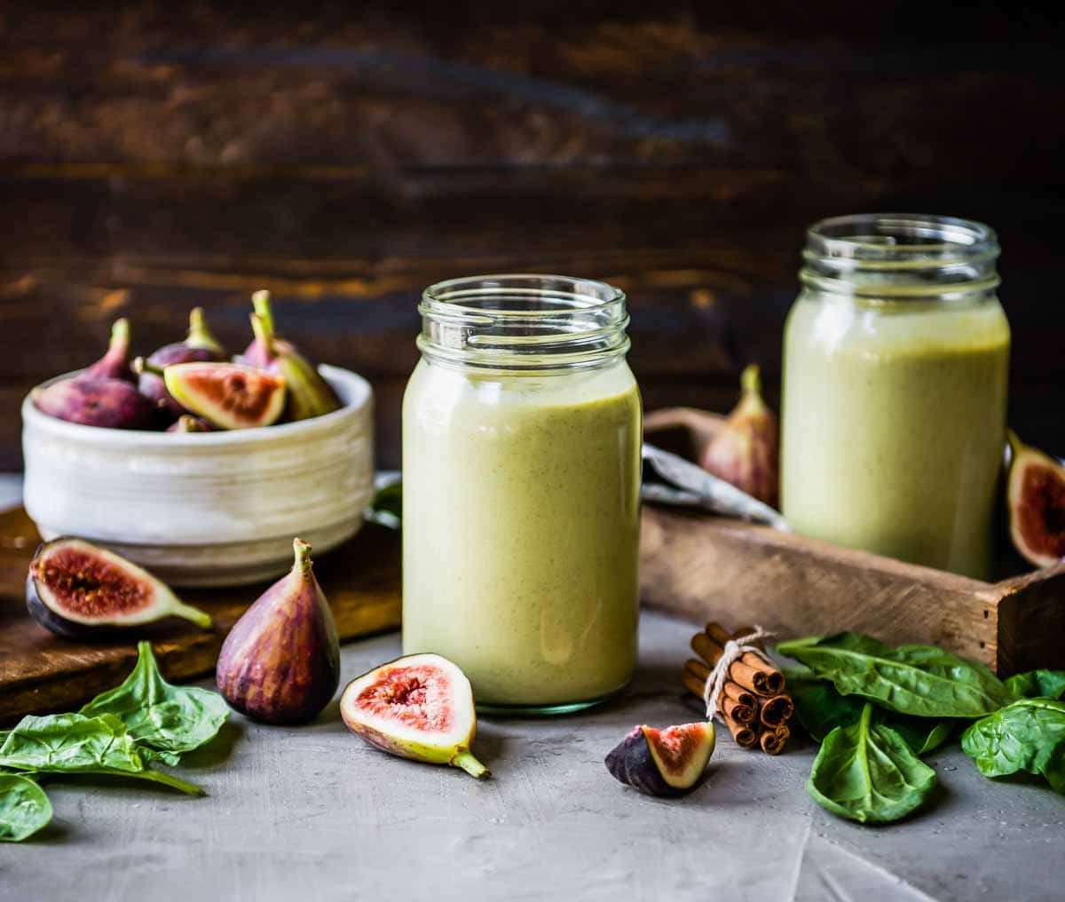 Fig smoothie for the holidays!