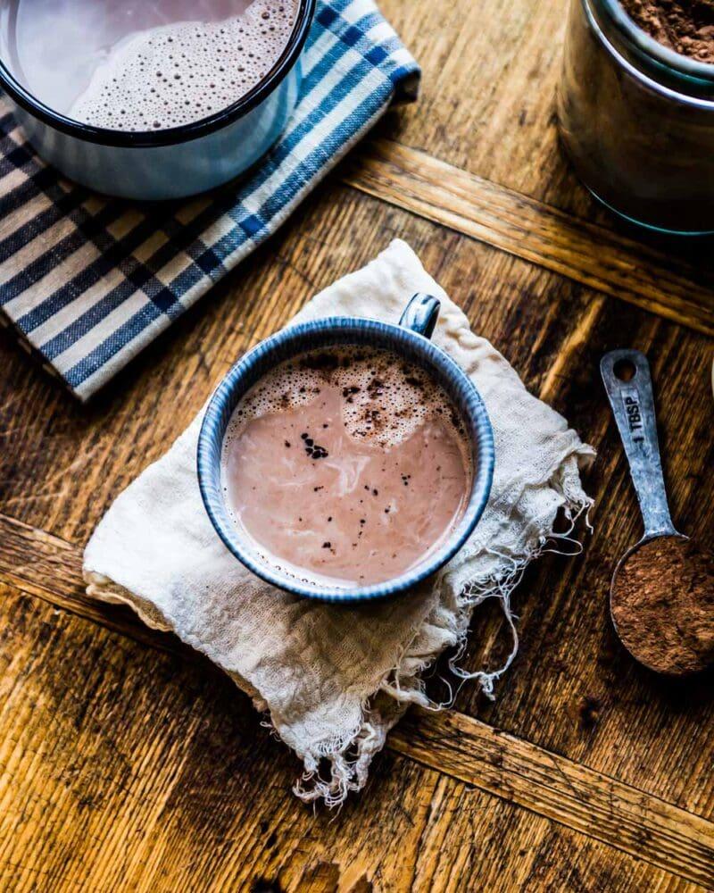 perfect mug of dairy free hot chocolate