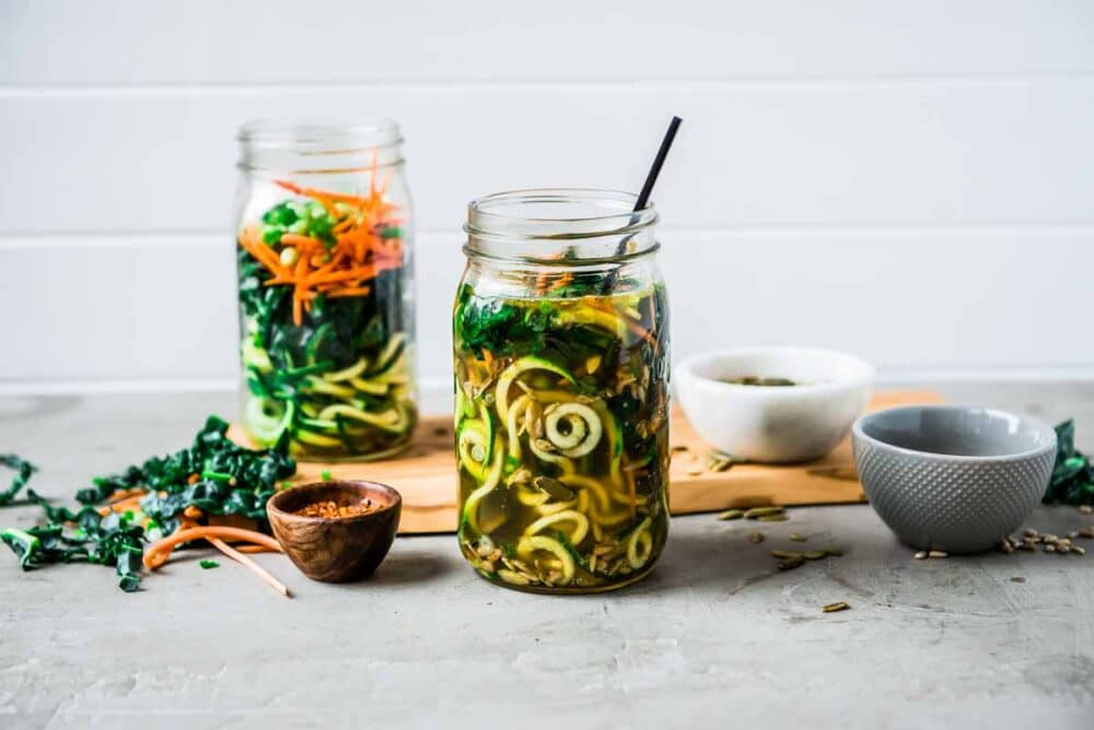An easy recipe for vegetable noodles with great health benefits