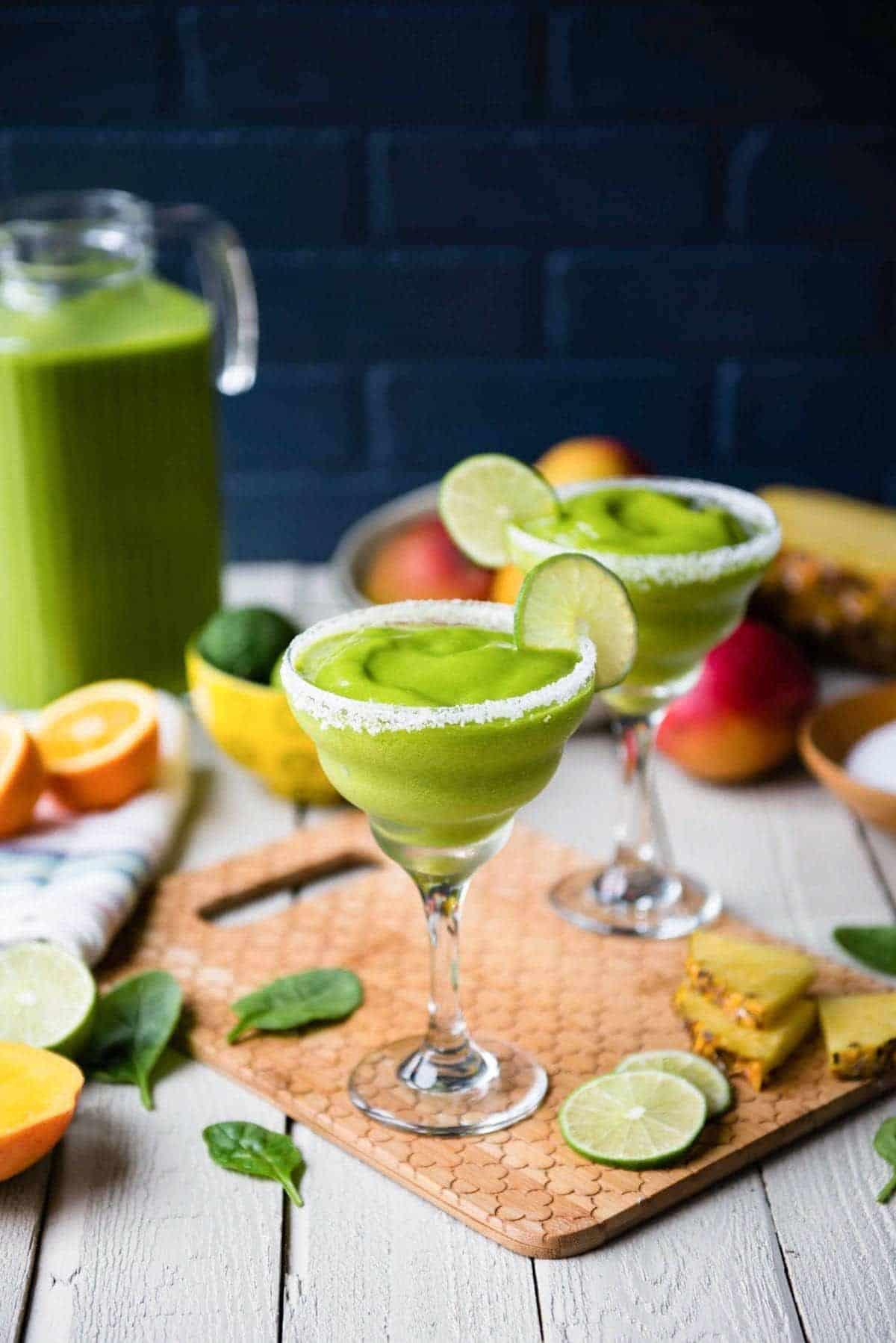 Margarita smoothie mocktail