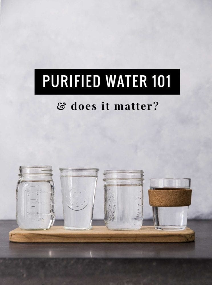 Does purified water make a difference? - Simple Green Smoothies