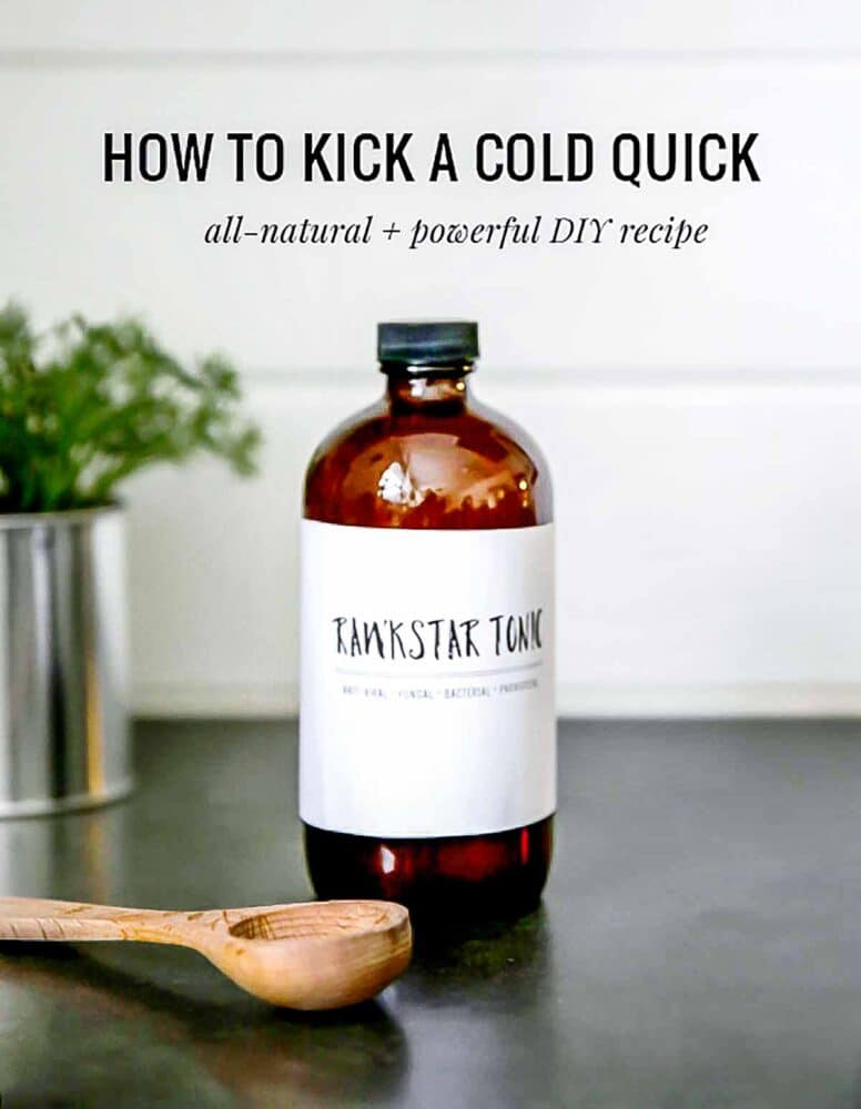 I'm stocking natural remedies like this one for the winter... my whole family benefits!