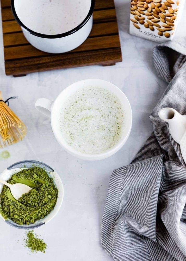 Plant-Based Matcha Latte recipe