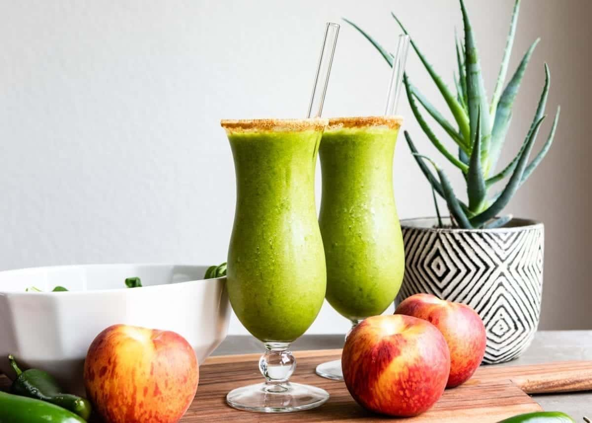 Green Smoothie Mocktail Recipe