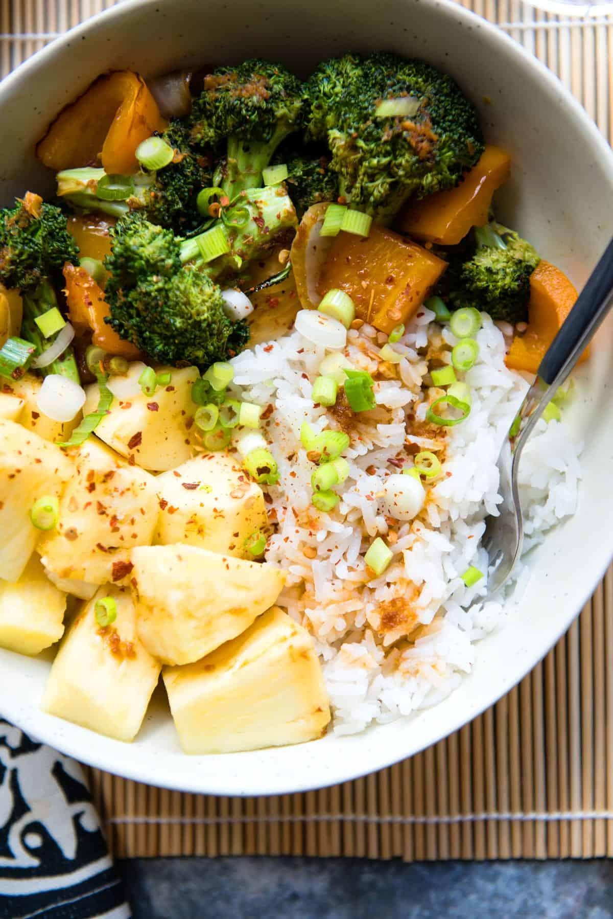 Teriyaki Veggie Bowls | Simple Green Smoothies