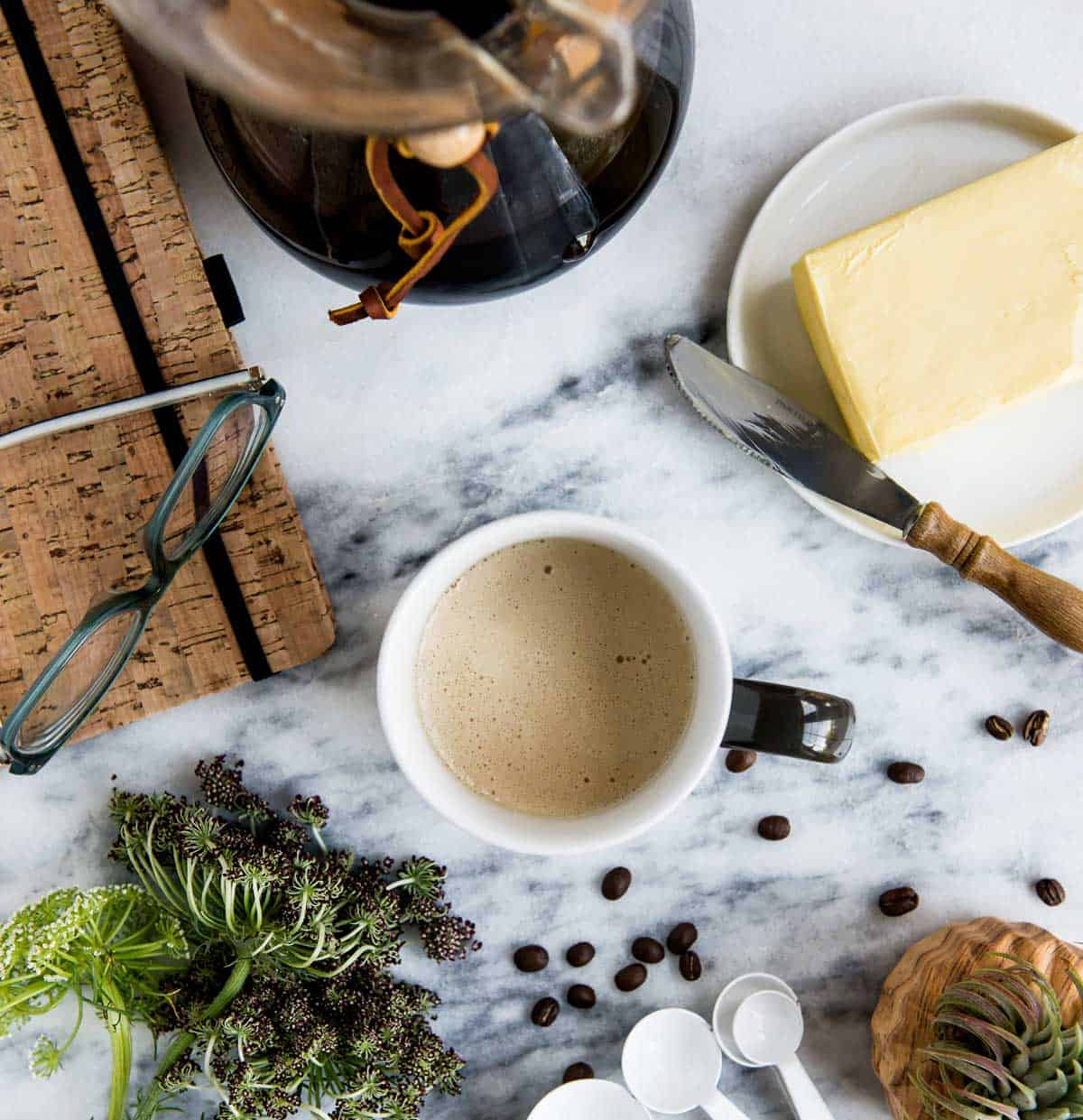a brand new healthy coffee recipe for energy without the crash