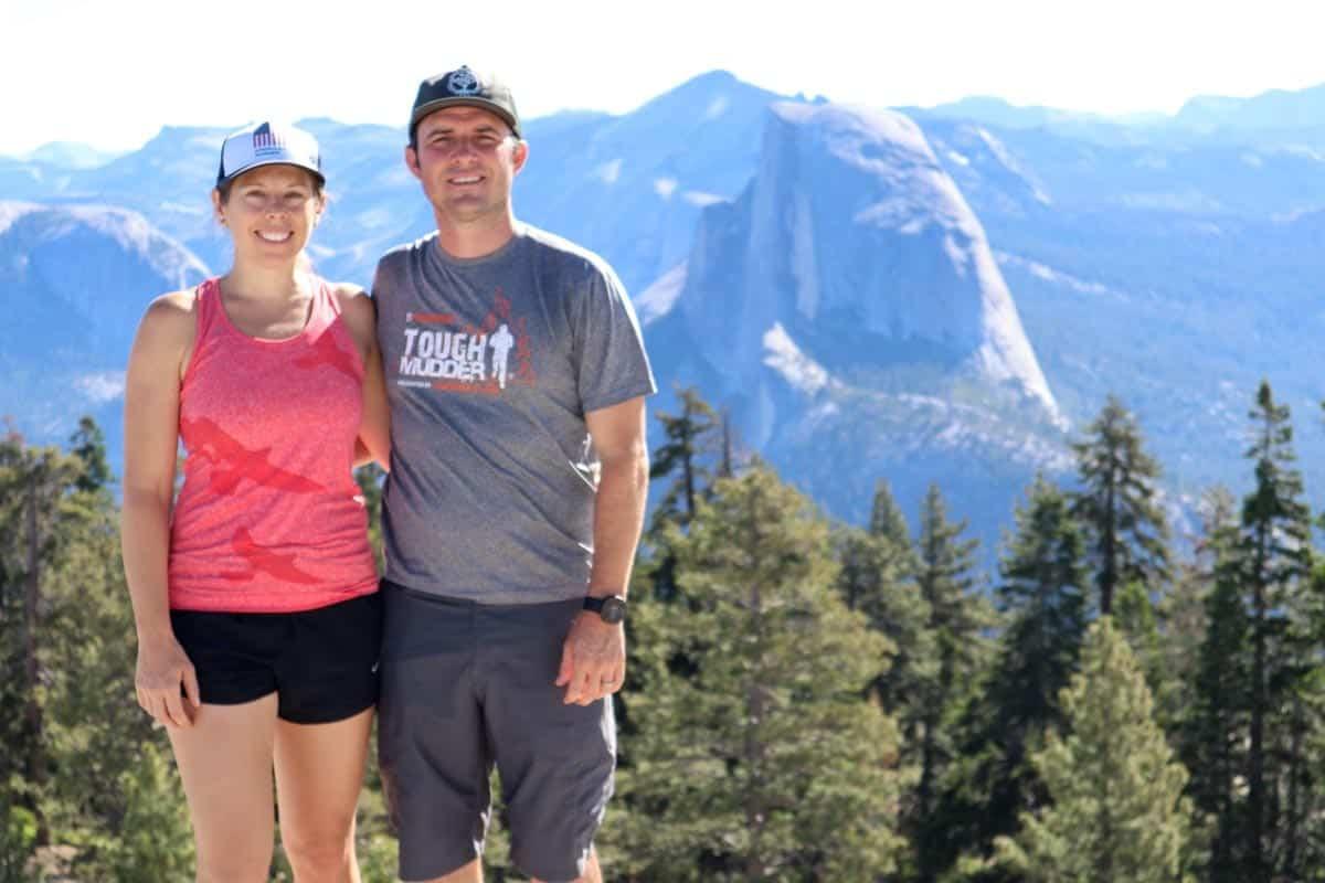 Jen and Ryan Hansard in Yosemite