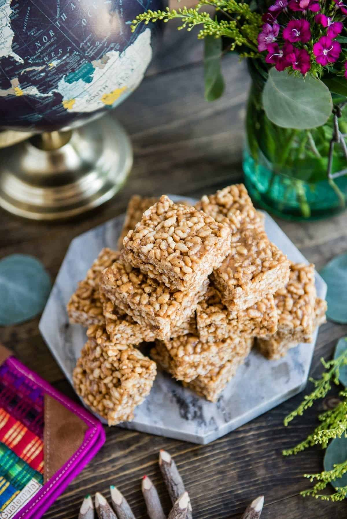 Rice Crispy Treat Recipe for Healthy Kids Snack