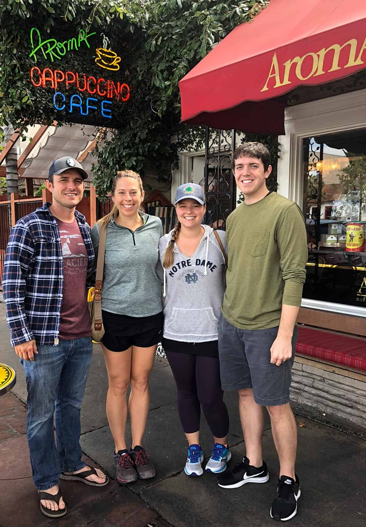 Cafe Aroma on California Road Trip