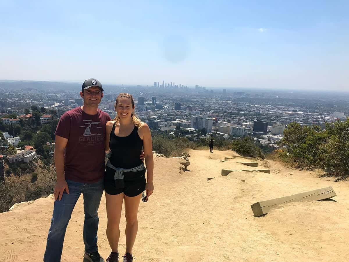 Views from Runyon Canyon hike