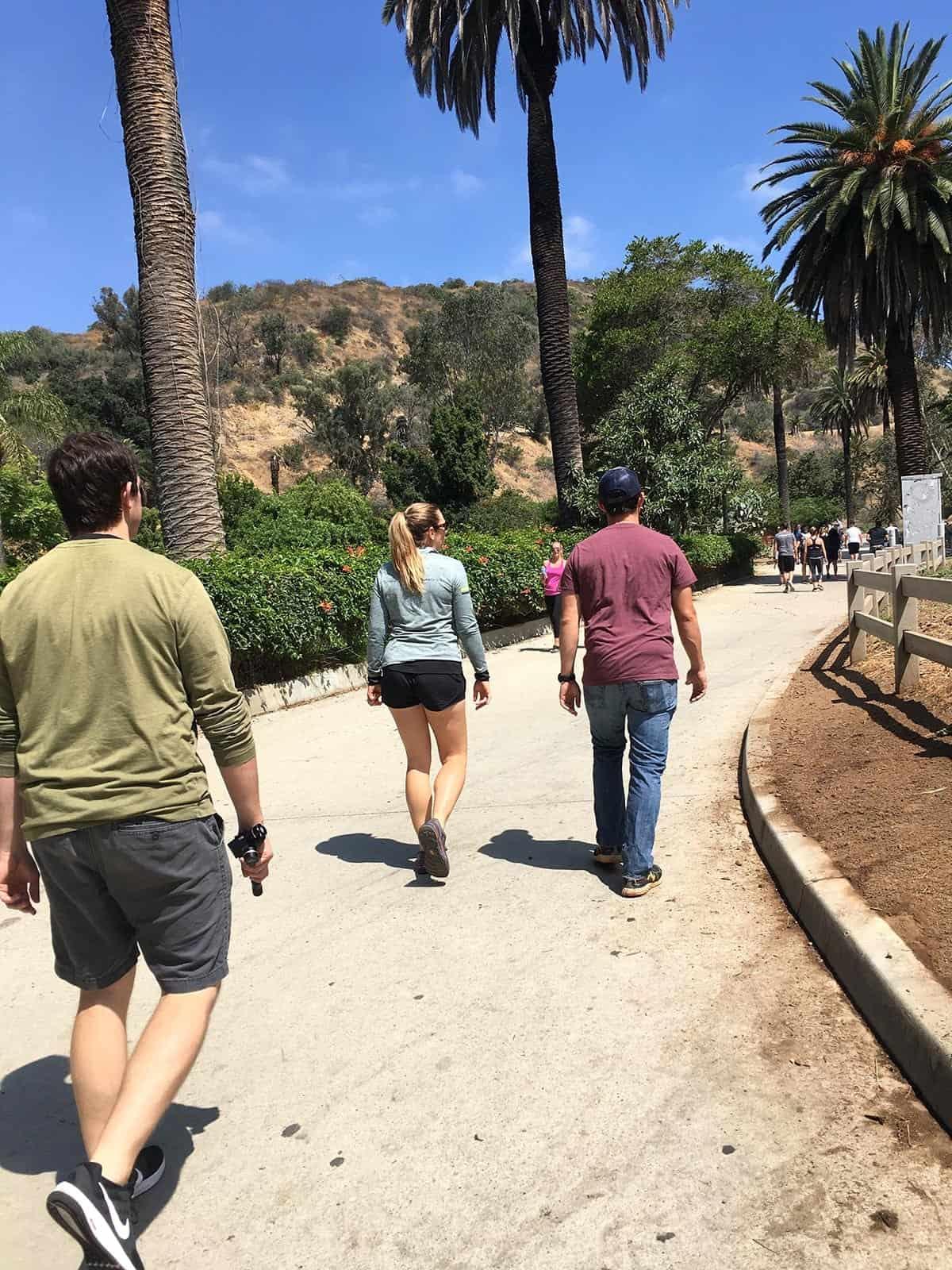 Walking Runyon Canyon