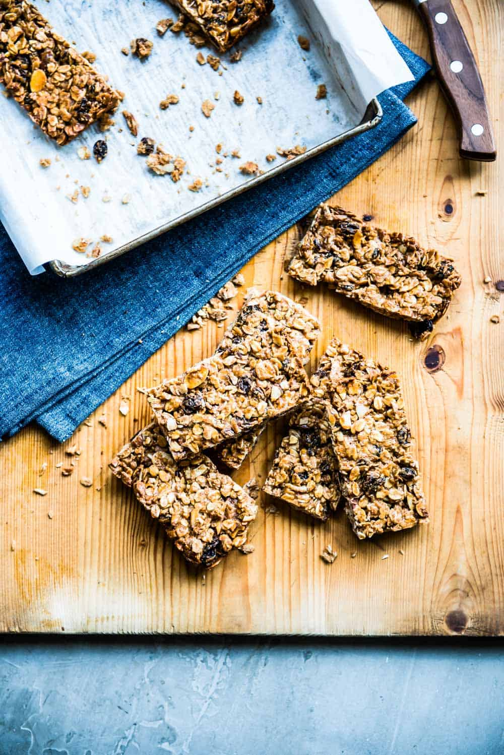 grab one of these oatmeal raisin bars before they're gone!