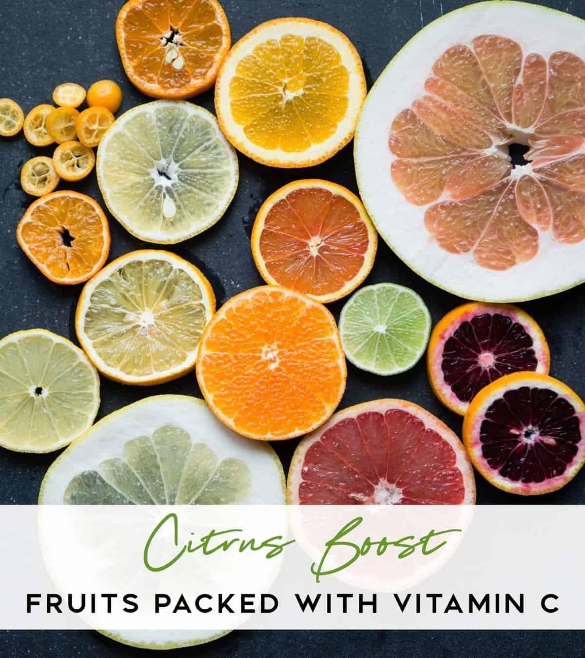Vitamin C Fruits Citrus