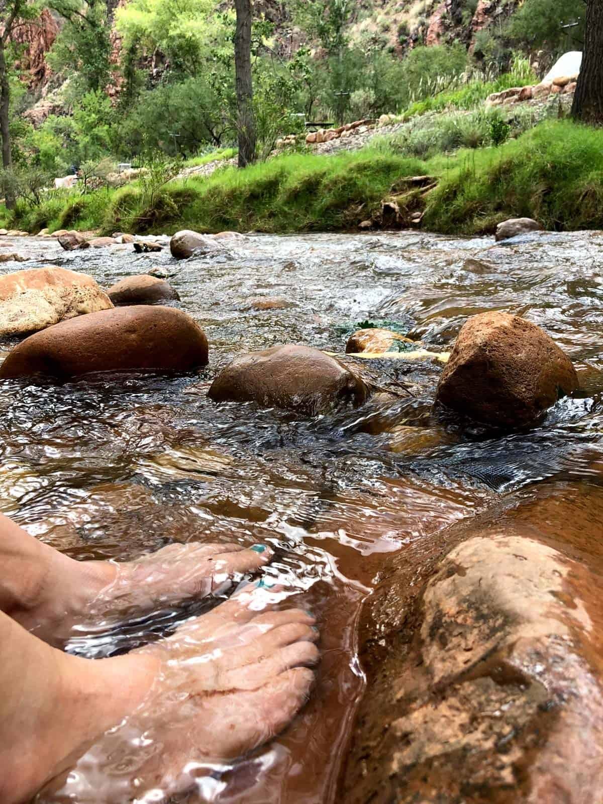 Cool river Hiking the Grand Canyon | Simple Green Smoothies
