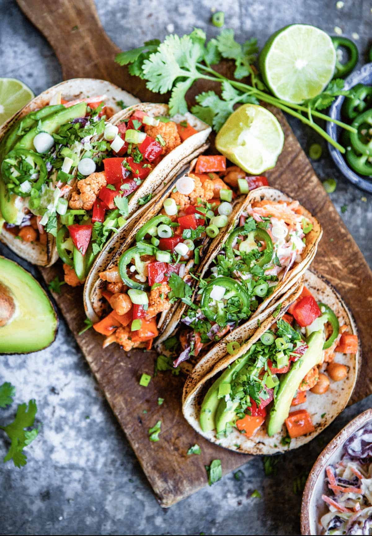Vegan tacos with Austin vibe