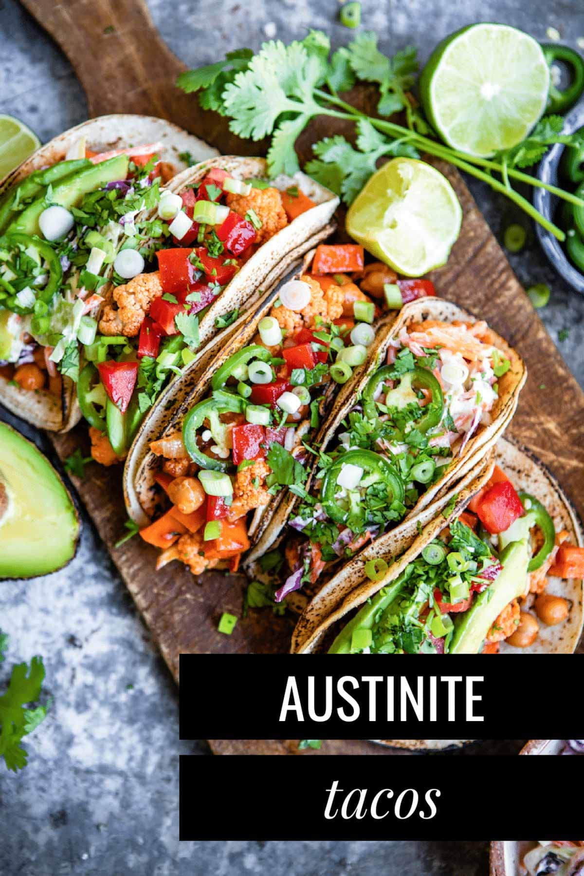 Delicious vegan taco recipe
