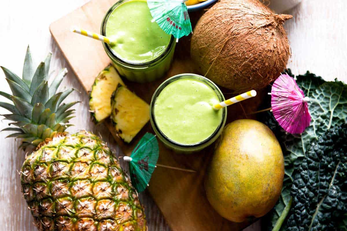 How to make a kale mango smoothie