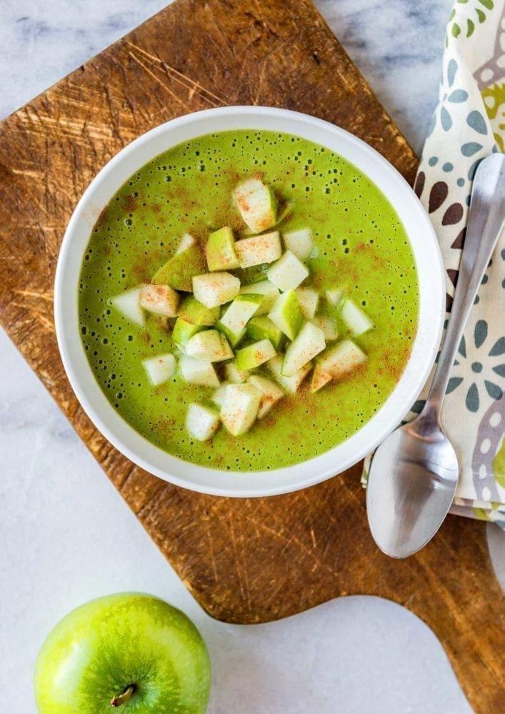 Apple maple cauliflower bowl idea