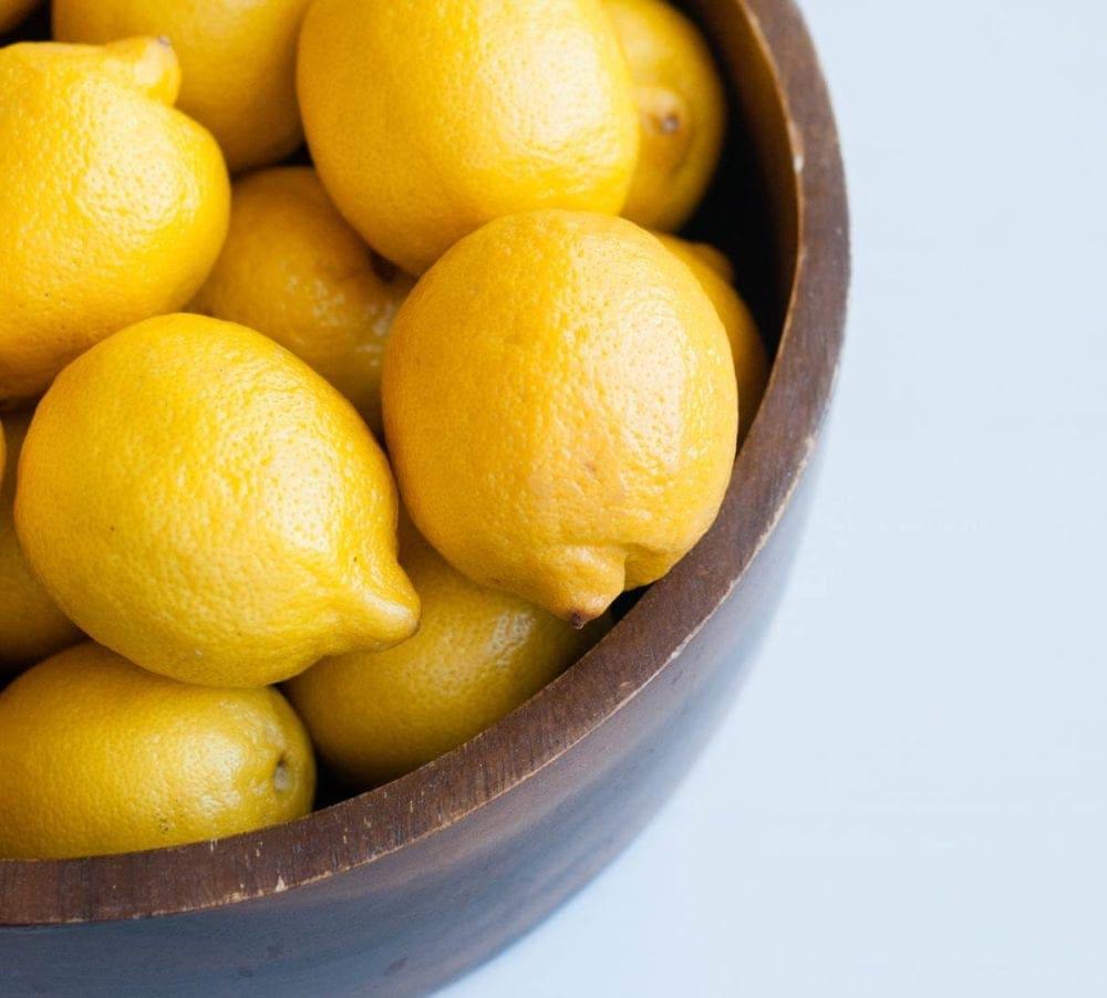 Fresh lemon for fighting inflammation