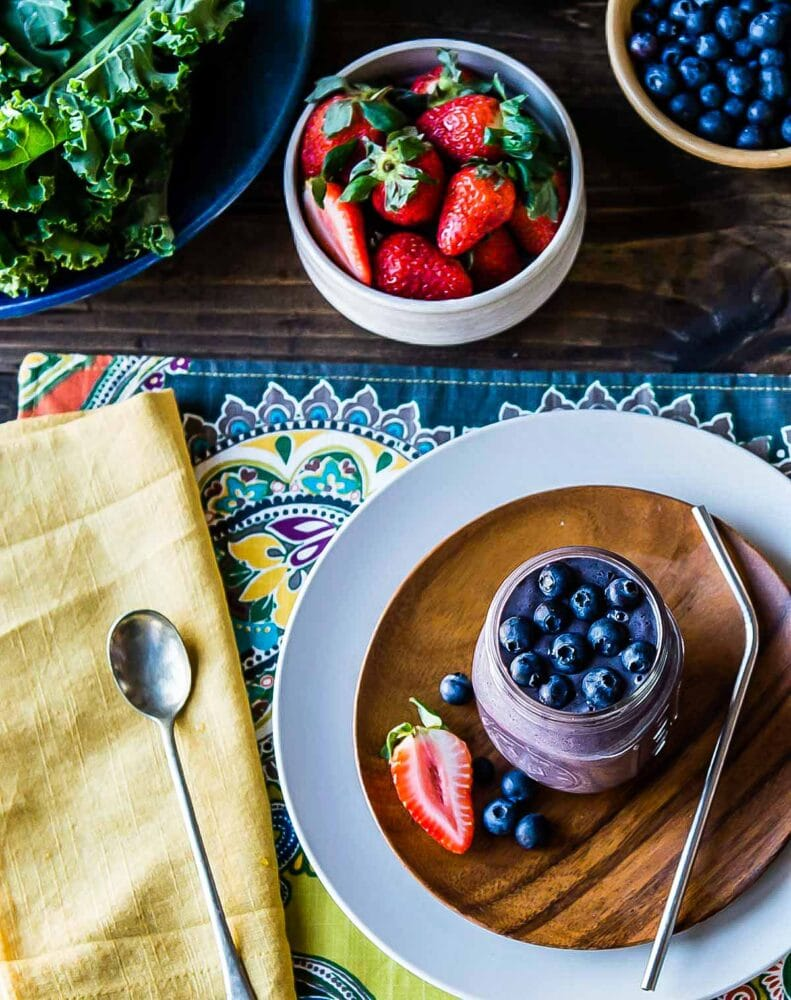 meal replacement smoothie makes a great snack