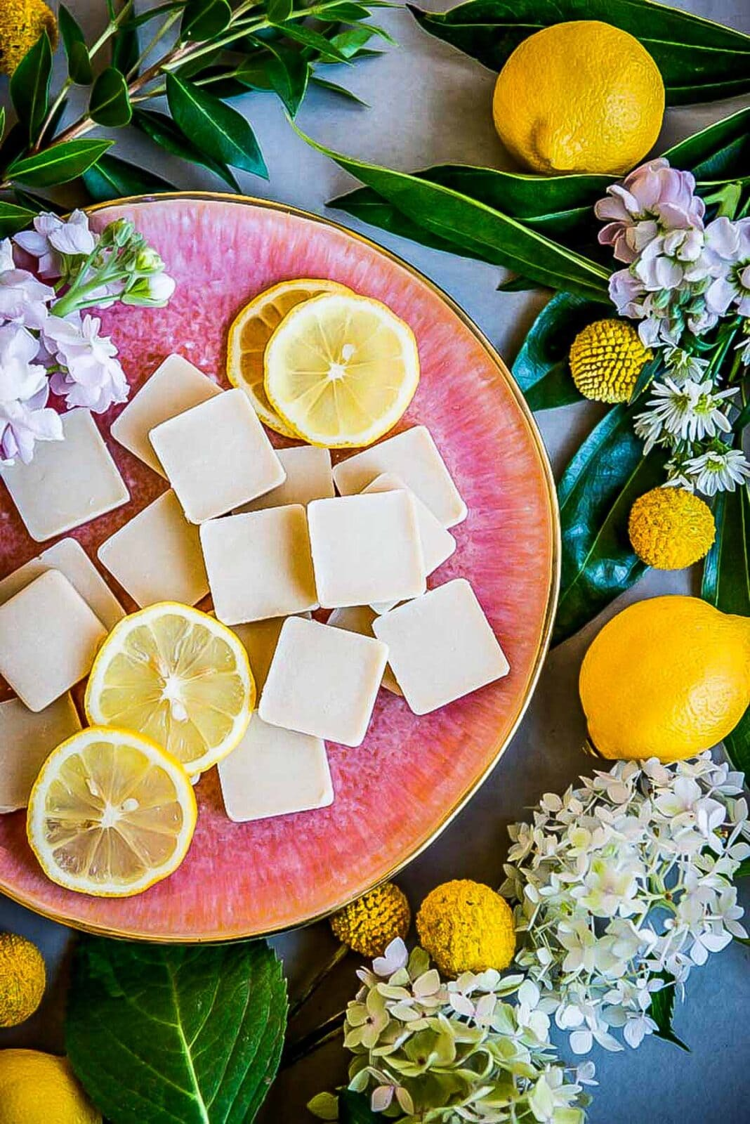 Lemon fat bombs for weight loss