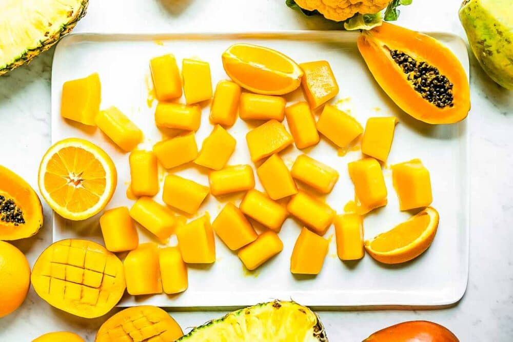 smoothie cubes are a great way to get natural vitamin C