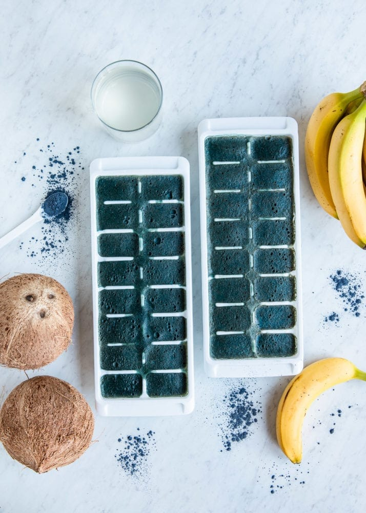 Coconut Water Smoothie Cubes
