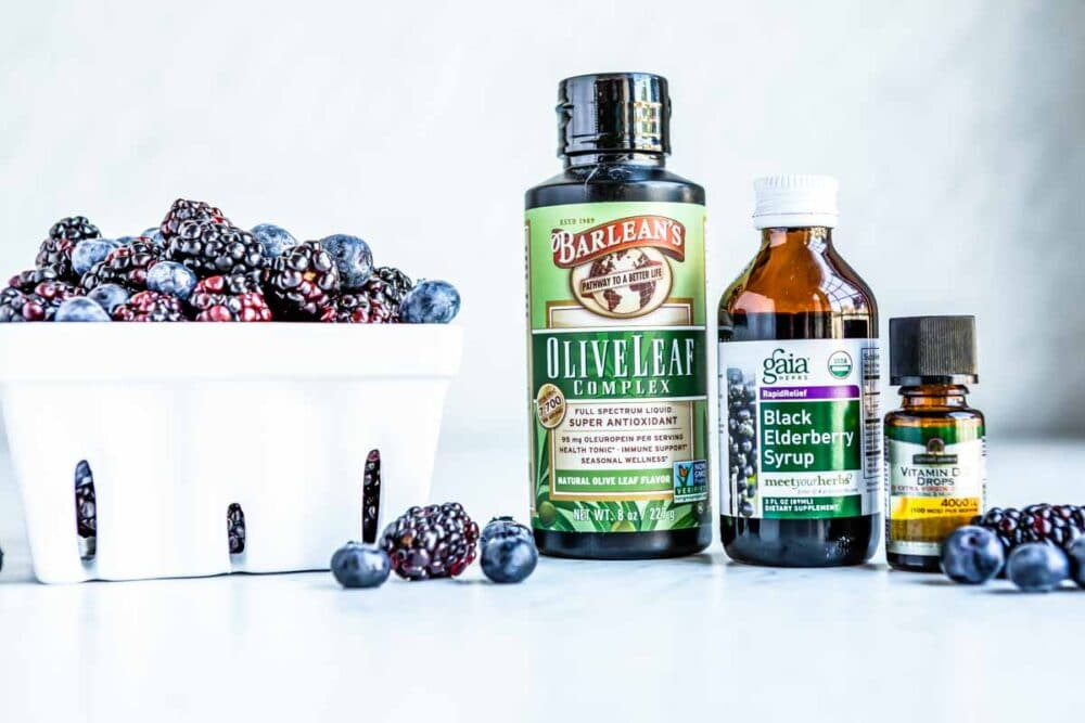 elderberry health benefits are maximized with other natural ingredients