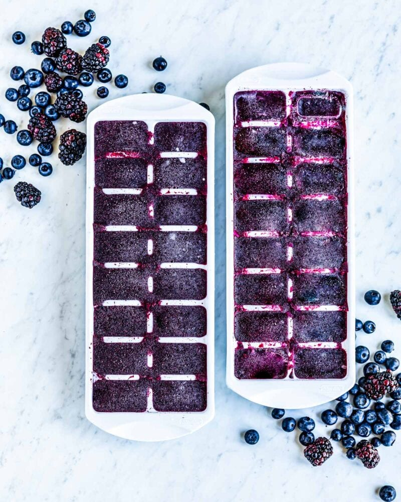 elderberry smoothie cubes should be a part of your flu fighting medicine cabinet