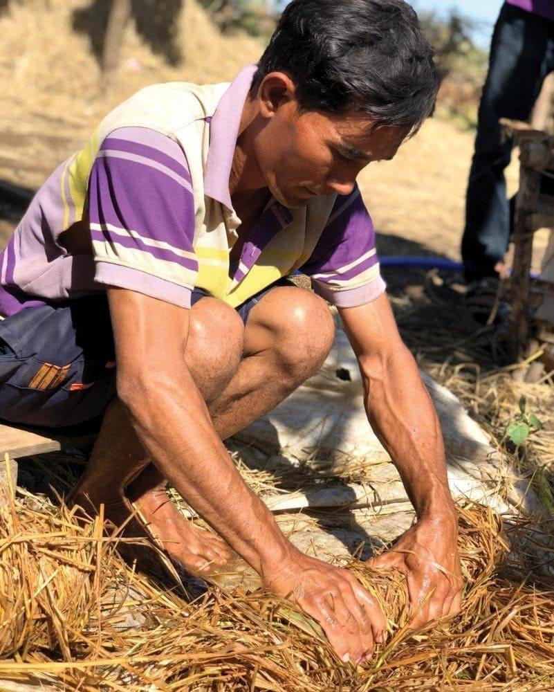 World Hope International teaches local farmers to grow mushrooms