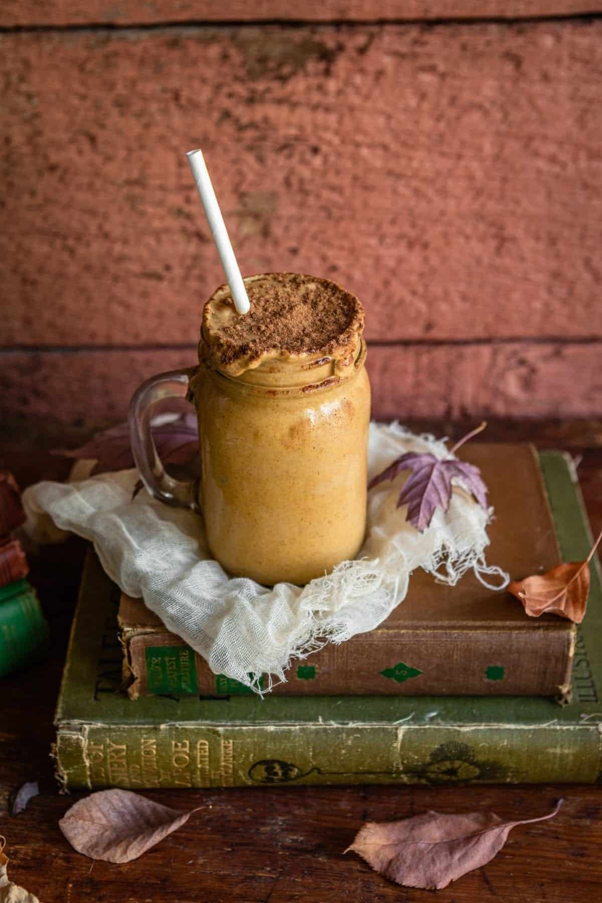 Maple pumpkin smoothie recipe