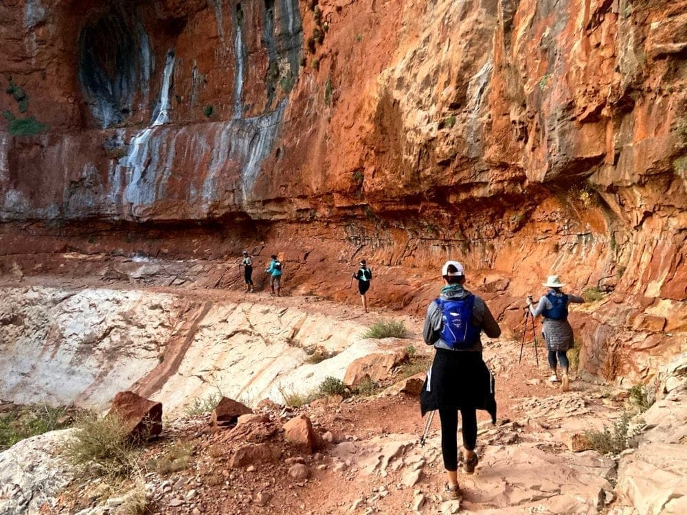 Hiking the rims of the Grand Canyon