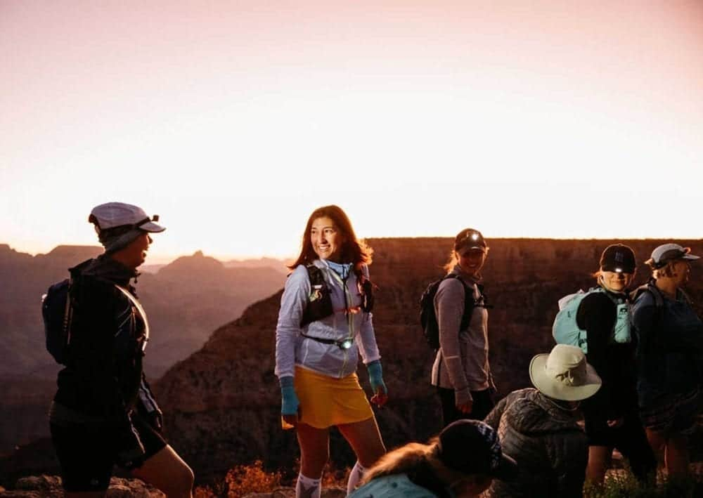 Incredible group experience hiking the Grand Canyon rim to rim