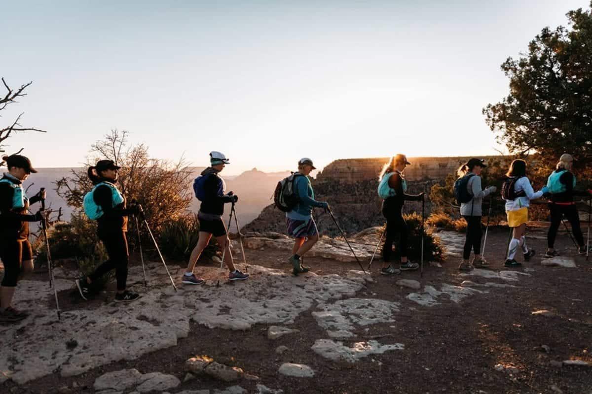 Hiking Grand Canyon rim to rim