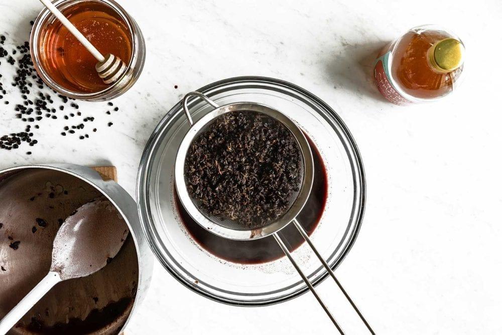 Elderberries for immune boosting syrup