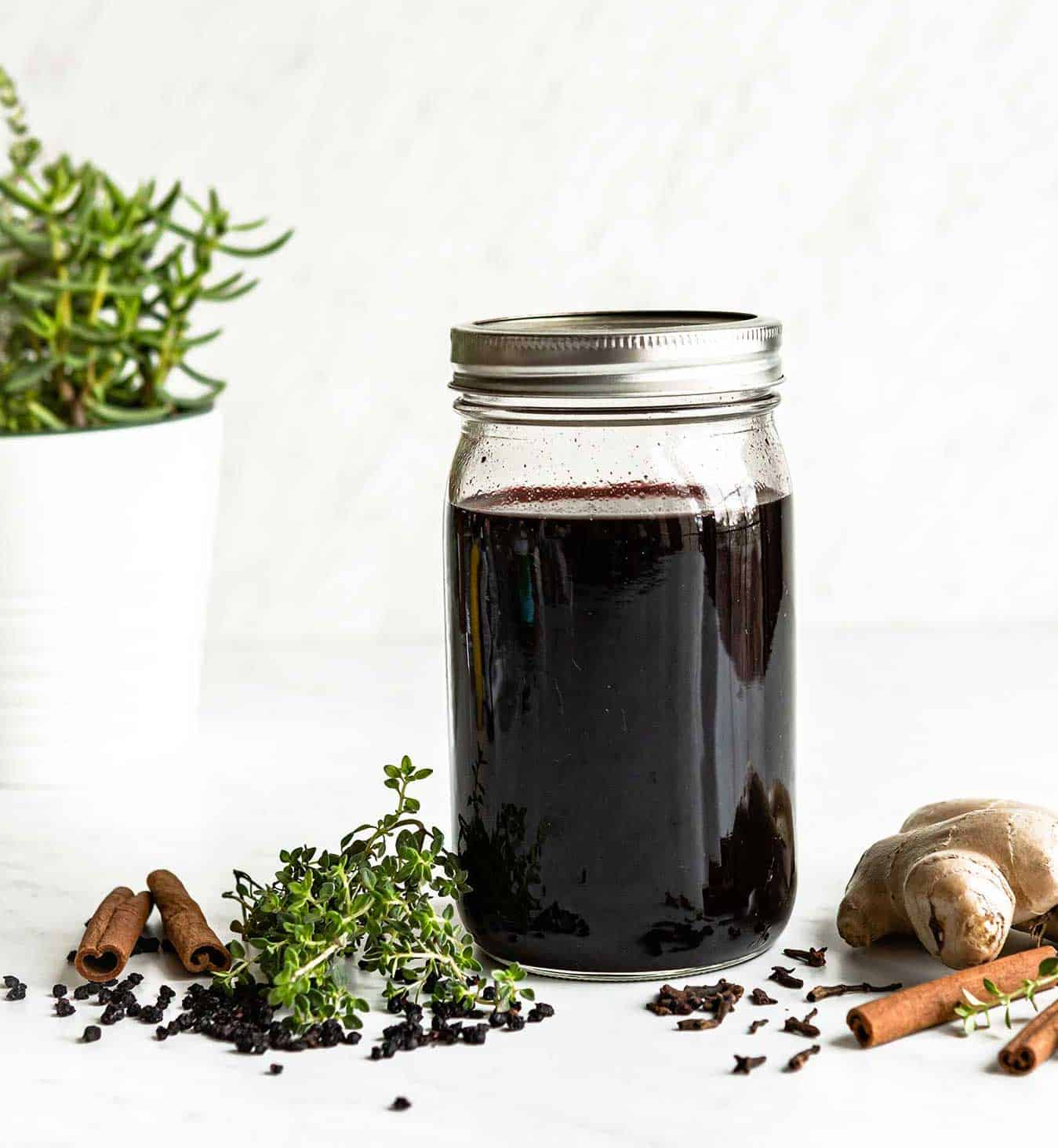 how to make elderberry syrup with a diy recipe