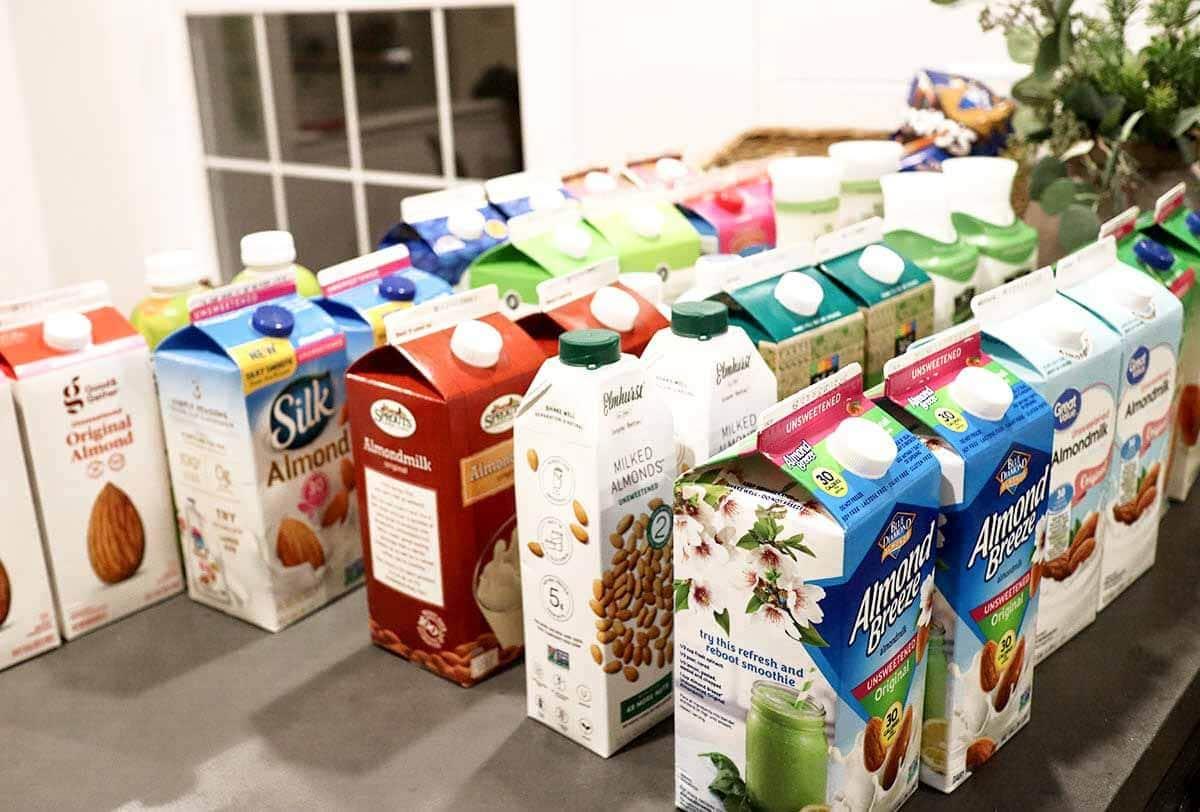 best almond milk