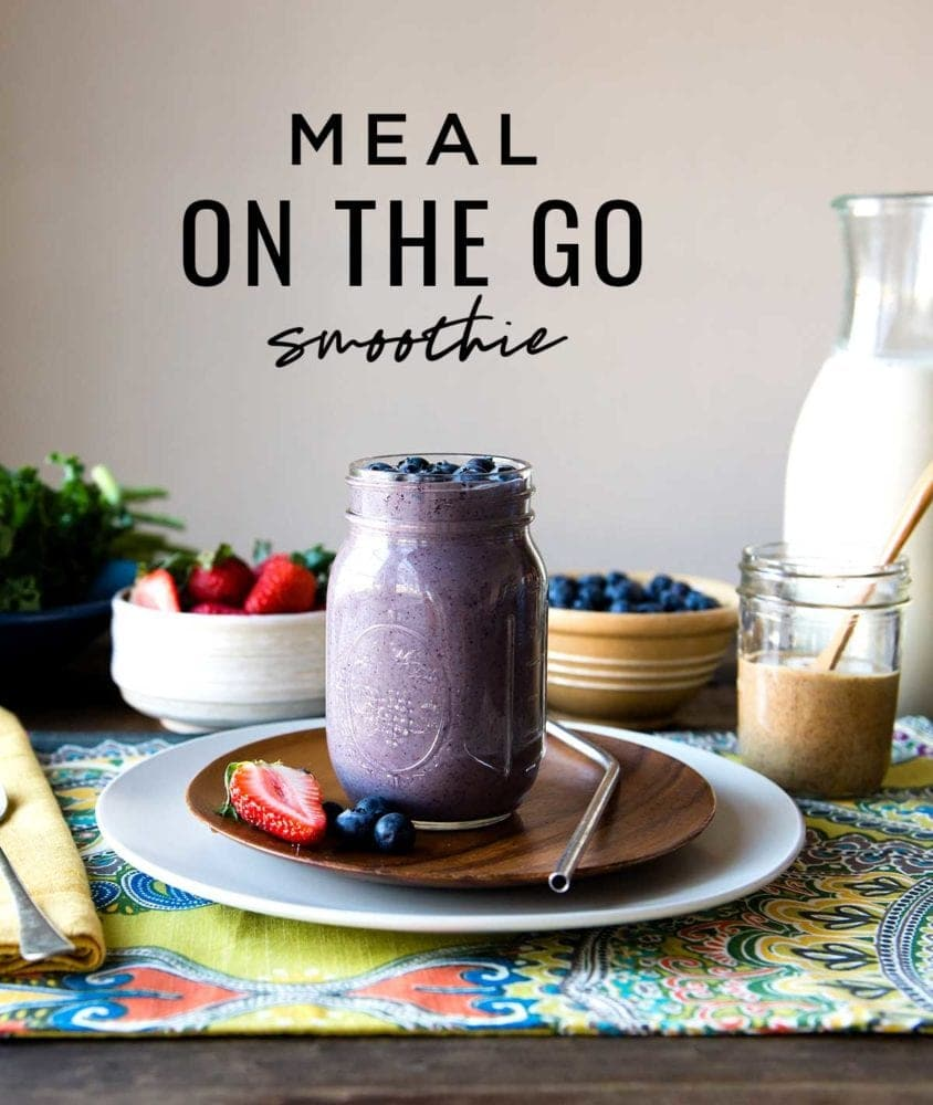Healthy meal replacement smoothie recipes