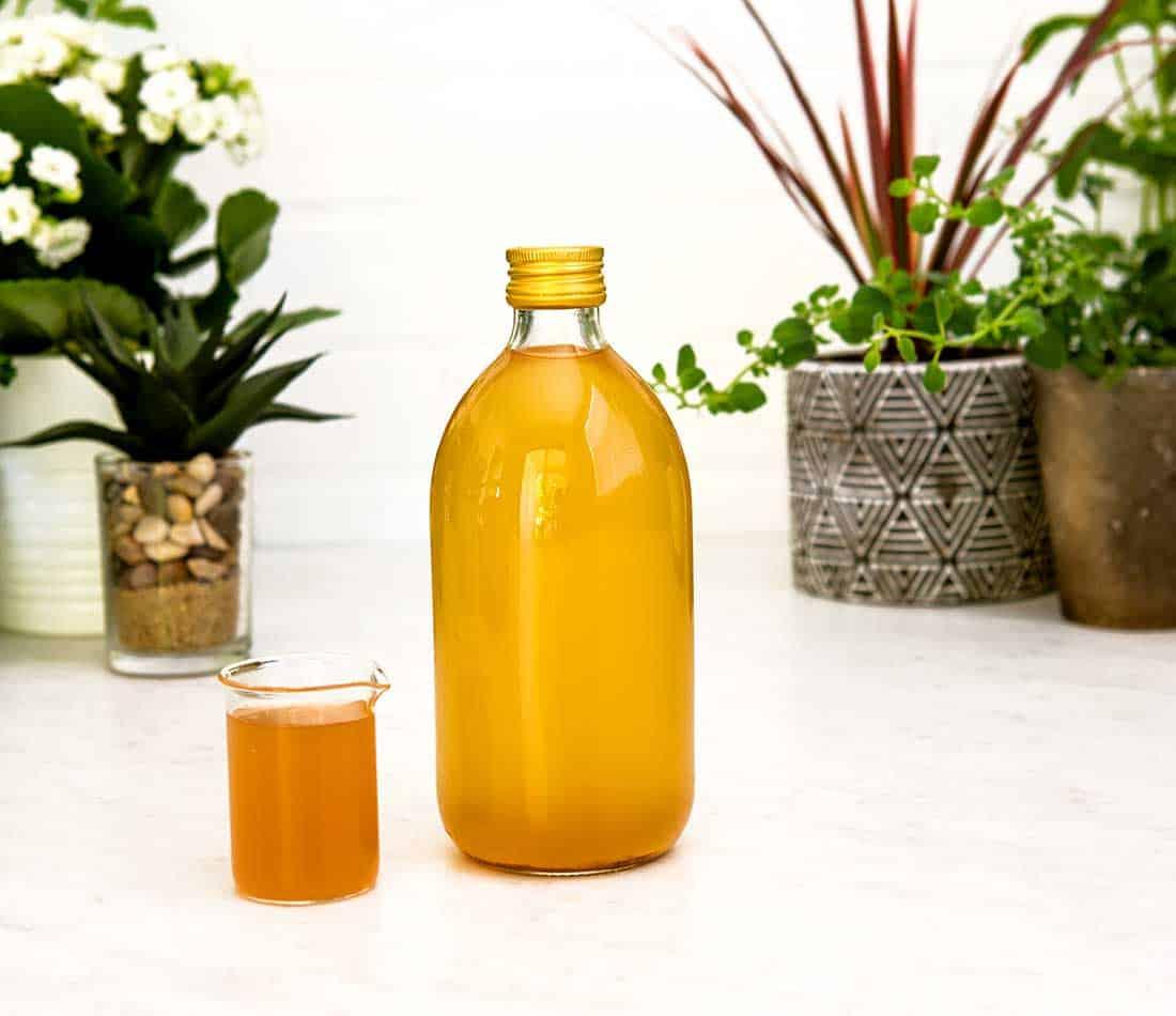 Homemade apple cider vinegar cures