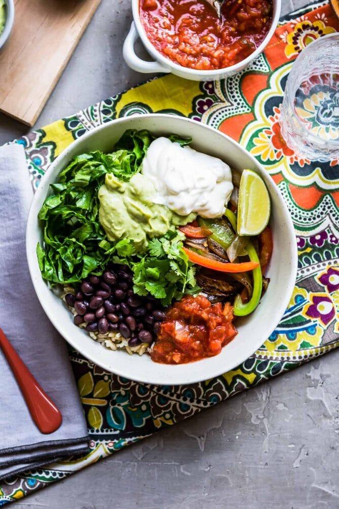 chipotle veggie bowl